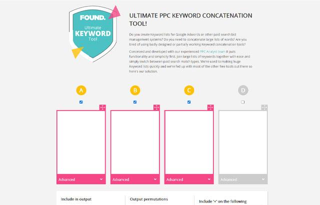 おすすめのキーワード掛け合わせ無料ツールPPC-Keyword-Concatenation-Tool